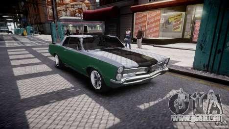 Pontiac GTO 1965 v3.0 für GTA 4 Innenansicht