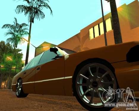 Azik Taxi pour GTA San Andreas vue de droite