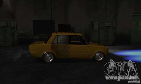 VAZ 2101 RAT LOOK pour GTA San Andreas sur la vue arrière gauche