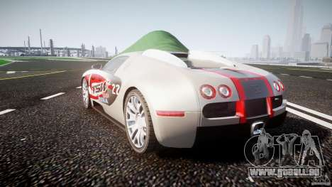Bugatti Veyron 16.4 v1 pour GTA 4 est un côté