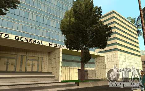 UGP Moscow New General Hospital für GTA San Andreas siebten Screenshot