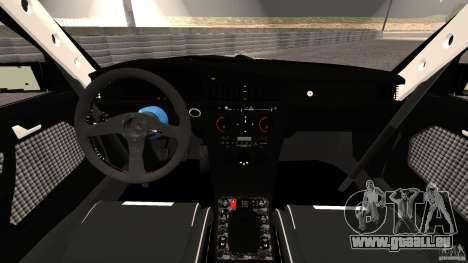 Mercedes-Benz 190E 2.3-16 sport für GTA 4 Rückansicht