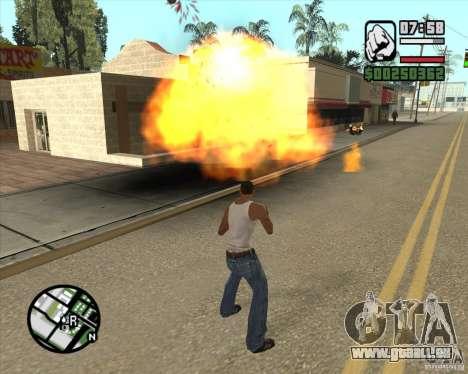 Blast für GTA San Andreas dritten Screenshot