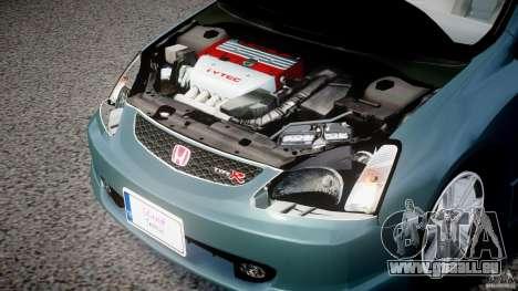Honda Civic Type-R pour GTA 4 Vue arrière