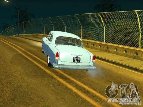 Volga gaz 21 pour GTA San Andreas laissé vue