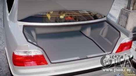 BMW 750i v1.5 für GTA 4 Innen
