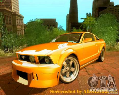 Ford Mustang GT 2005 Tunable pour GTA San Andreas