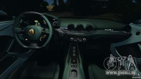 Ferrari F12 Berlinetta 2013 [EPM] pour GTA 4 Vue arrière