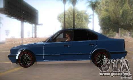BMW M5 für GTA San Andreas linke Ansicht