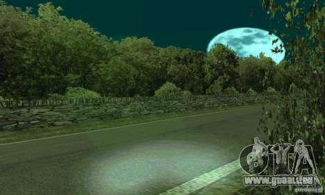 L'itinéraire du rallye pour GTA San Andreas deuxième écran