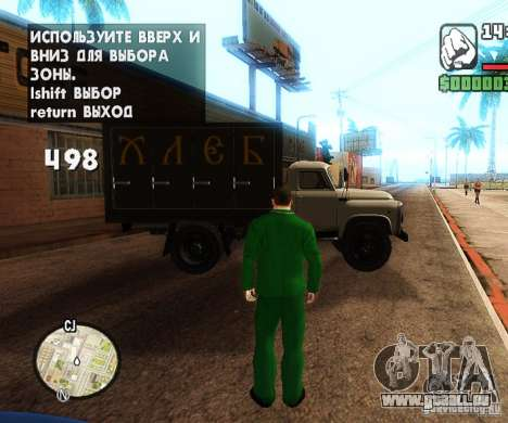 Сar Laich-Spawn Autos für GTA San Andreas dritten Screenshot