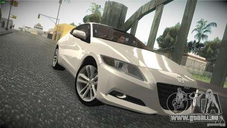 Honda CR-Z 2010 V1.0 für GTA San Andreas Innenansicht