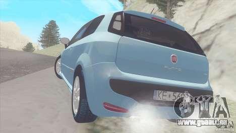 Fiat Punto für GTA San Andreas rechten Ansicht