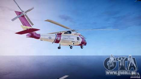 HH-60J Jayhawk pour GTA 4 Vue arrière de la gauche
