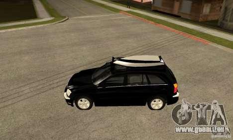 Chrysler Pacifica pour GTA San Andreas laissé vue