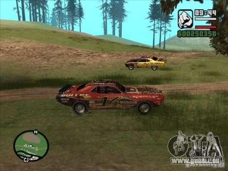 FlatOut bullet pour GTA San Andreas vue de droite
