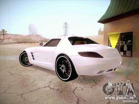 Mercedes-Benz SLS AMG 2010 Hamann Design pour GTA San Andreas laissé vue