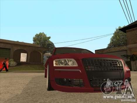 Audi A8 Switze pour GTA San Andreas vue arrière