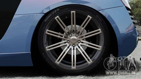 Audi R8 pour GTA 4 Vue arrière