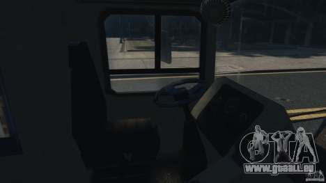 London City Bus für GTA 4 Innenansicht