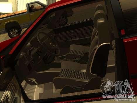Toyota Celica Supra pour GTA San Andreas vue de côté