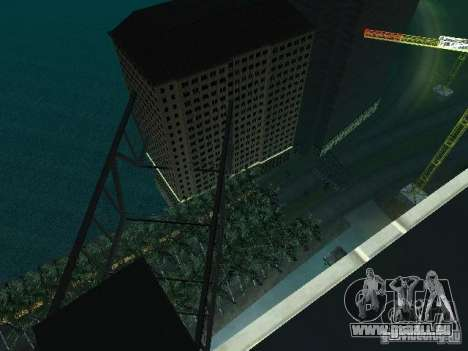 Nouvelle ville v1 pour GTA San Andreas septième écran