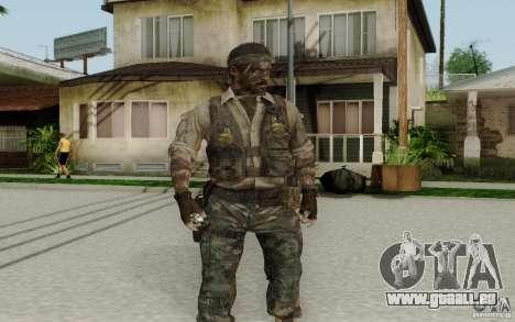 Frank Woods pour GTA San Andreas deuxième écran