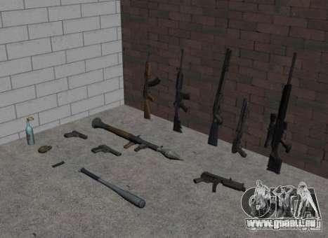 Armes de GTA IV pour GTA San Andreas