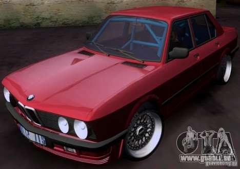 BMW 5-er E28 pour GTA San Andreas
