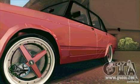 VAZ 2107 voiture Tuning pour GTA San Andreas vue intérieure