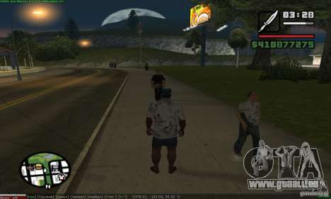 Weapons for pedestrian für GTA San Andreas zweiten Screenshot