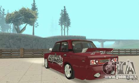 VAZ 2107 Ex Tuning für GTA San Andreas linke Ansicht