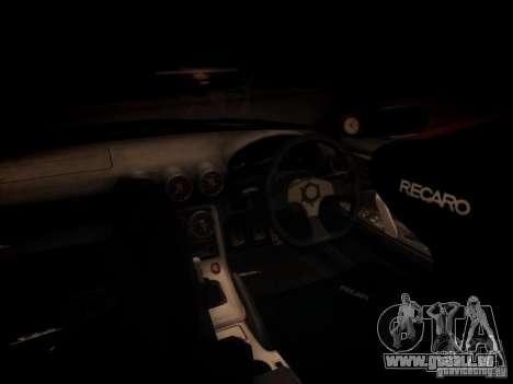 Nissan Silvia S15 pour GTA San Andreas vue intérieure