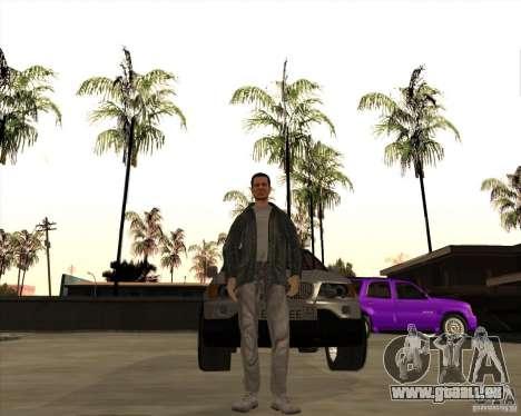 Die Haut ist ein Mitglied der mafia für GTA San Andreas zweiten Screenshot