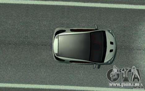 Aston Martin Cygnet 2011 pour GTA 4 Vue arrière
