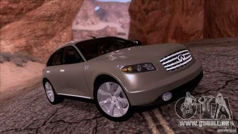 Infiniti FX45 2007 für GTA San Andreas