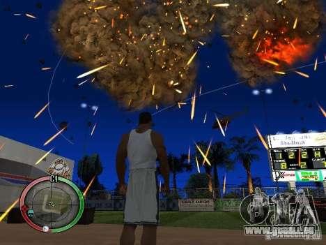 RAIN OF BOXES pour GTA San Andreas cinquième écran