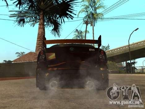 Skoda Octavia II Tuning pour GTA San Andreas sur la vue arrière gauche