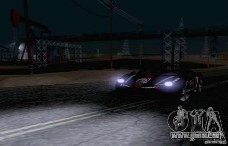 Ferrari F458 pour GTA San Andreas vue de côté