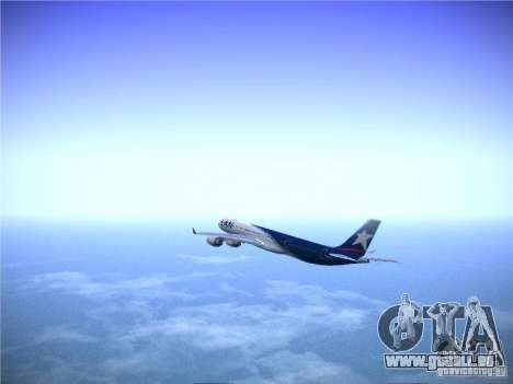 Airbus A340-600 LAN Airlines für GTA San Andreas Innenansicht