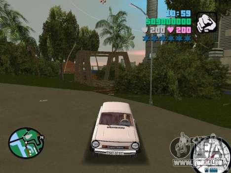 ZAZ 968 für GTA Vice City rechten Ansicht