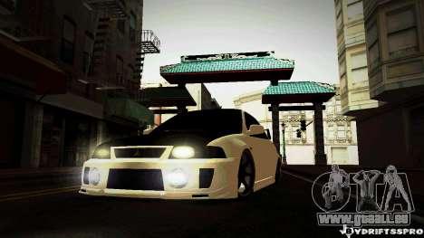 Mitsubishi Lancer Evolution 6 pour GTA San Andreas