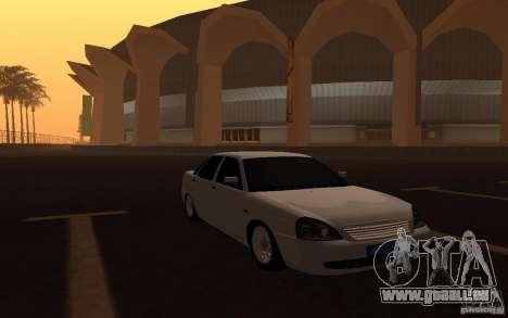 Lada Priora Light Tuning pour GTA San Andreas vue de droite
