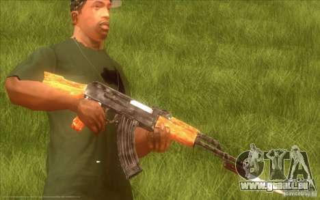 Kalaschnikow HD für GTA San Andreas