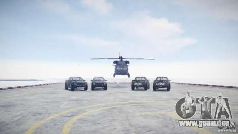Ford F150 SVT Raptor 2011 UNSC pour GTA 4 est une vue de l'intérieur