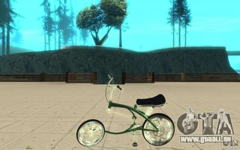 Custom Bike pour GTA San Andreas laissé vue