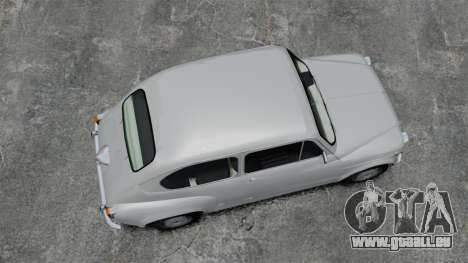 Zastava 750 pour GTA 4 est un droit