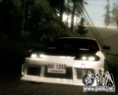 Nissan Silvia pour GTA San Andreas vue de dessus