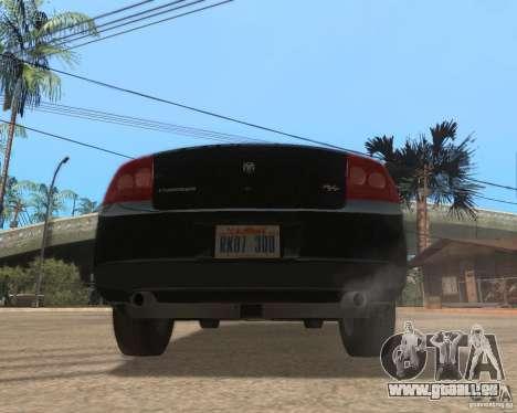 Dodge Charger für GTA San Andreas zurück linke Ansicht