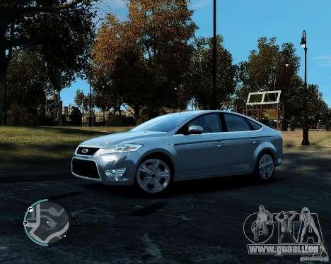 Ford Mondeo 2009 v1.0 pour GTA 4